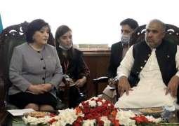 Azerbaijan supports Pakistan's principled stance on Kashmir dispute, says Sahiba Gafarova