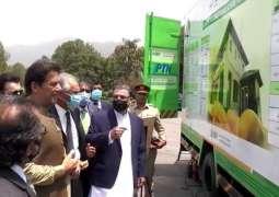 PM inaugurates mobile unit in Islamabad