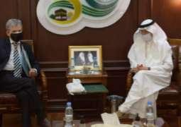 Al-Othaimeen Receives Algeria's Permanent Representative to the OIC