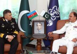 Commander Azerbaijan Naval Forces Called On Chief Of The Naval Staff At Naval Headquarters