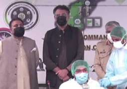 Pakistan administers 10 million doses of Covid-19 vaccine
