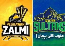 Today PSL 6 Match 21 Multan Sultans Vs. Peshawar Zalmi 13 June 2021: Watch LIVE on TV