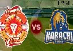PSL 6: Islamabad United to take on defending champions Karachi Kings