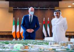 Abdullah bin Zayed receives Irish Minister for Foreign Affairs and Defence