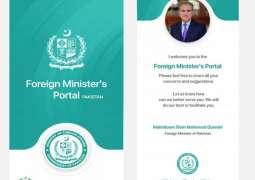 Pakistan heeds to its diaspora through 'Foreign Minister's Portal'