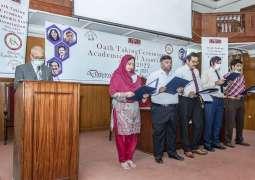 UVAS Academic Staff Association office-bearers sworn-in