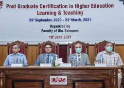 UVAS initiates Vets' continued professional development (CPD) training: 1st hallmark certification in South Asia