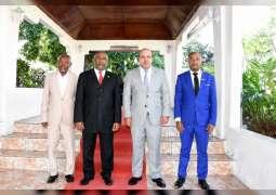 Comoros President meets UAE Ambassador, discusses ties