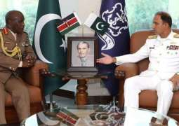 Chief of Defence Forces Kenya visits calls on Naval Chief