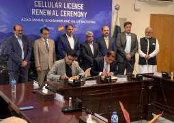 PTA renews Telenor Pakistan's license in AJK & GB