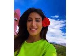 Mehwish Hayat enjoys weather in Skardu