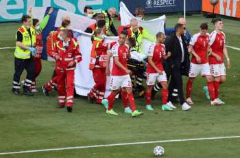 Danish Soccer Player Christian Eriksen Collapses During EURO Match vs Finland