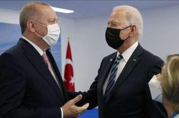 Biden Says Had 'Very Good Meeting' With Turkey's Erdogan