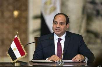 الرئيس المصري يستقبل وزراء ومسؤولي الإعلام العرب