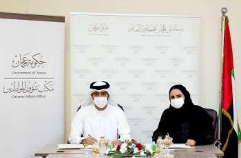 """""""شؤون المواطنين"""" ومستشفى عجمان التخصصي يتعاونان لتوفير الخدمات الصحية لأبناء الإمارة"""