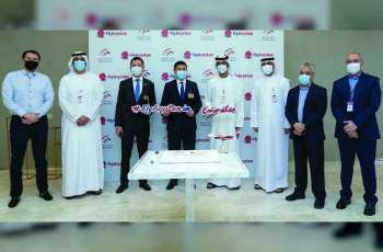 Sharjah Airport receives inaugural flight of 'FlyArystan'