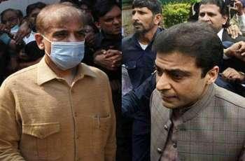 Court allows interim bail to Shehbaz Sharif, Hamza Shehbaz in Ramzan Sugar Mills case