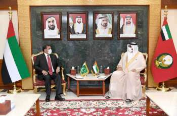 UAE's Minister of State for Defence Affairs receives Pakistani Ambassador