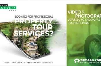 Zameen.com Launches Exclusive Property Tour Services