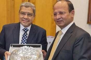 سفیر باکستان لدی مصر یوٴکد دخول رجال الأعمال المصریین الی اسلام آباد بدون تأشیرة