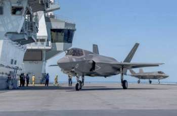 UK Launches First Carrier-Based F-35 Strikes Against Islamic State - US CENTCOM