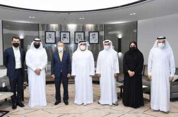 مطر الطاير يلتقي نائب رئيس اللجنة الأولمبية الدولية