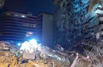 At Least 8 People Injured in Partial Collapse of Multi-Storey Building in Florida- Reports
