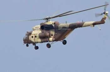 Military Chopper Bursts Into Flames After Crash-Landing in Southwestern Kenya - Reports