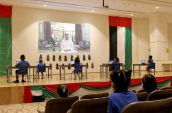 Ras Al Khaimah Ruler shares video call message to first-grade students