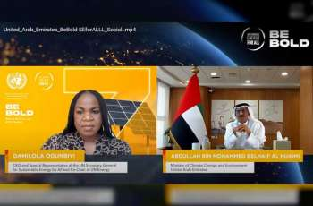 Minister of Climate Change and Environment highlights UAE's role as global clean energy champion