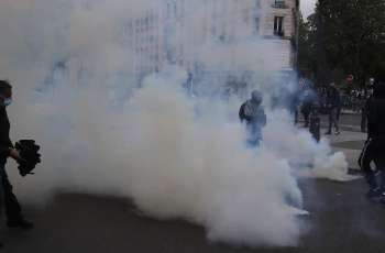 Palestinian Police Fire Tear Gas on Protesters in Ramallah - Reports