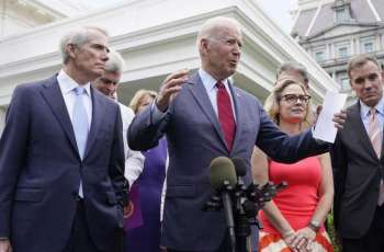 Biden Says Democrats Struck Infrastructure Deal With Republicans Without Raising Taxes