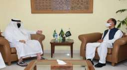 وزیر الاقتصاد عمر أیوب خان یجتمع بسفیر السعودیة لدی باکستان
