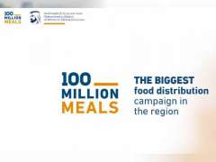 100 Million Meals campaign, WFP distribute 4.7 million meals to refugees in Jordan