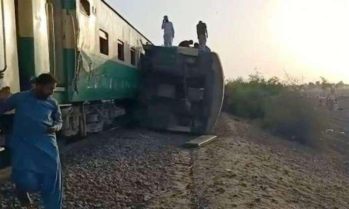 Ghotki trains' crash: Railways' nine senior officers suspended