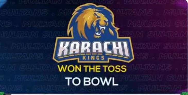 PSL 6: Karachi Kings won the toss to bowl first against Multan Sultans