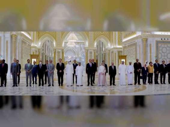 الخارجية تقيم حفل وداع لسفيري الأردن وأوكرانيا