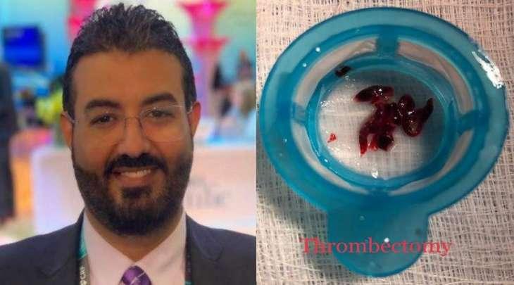 فریق طبي ینقذ حیاة شاب باکستاني فی السعودیة من جلطة قلبیة