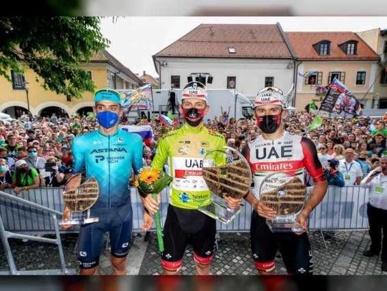 UAE Team Emirates' Pogacar takes home victory in Slovenia