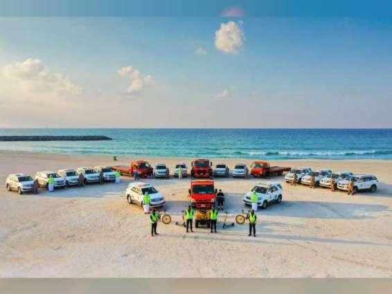 بلدية الشارقة ترفع معايير الأمان والسلامة على الشواطئ وتوفر 58 منقذاً