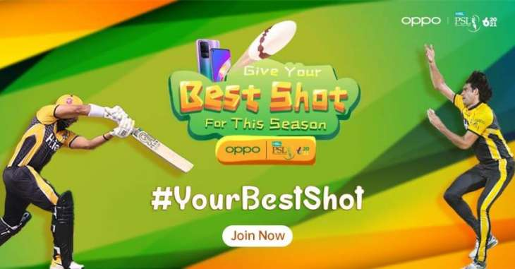 Share #YourBestShot with OPPO on TikTok this PSL season!