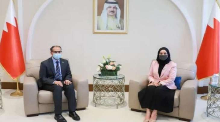 سفیر باکستان لدی مملکة البحرین یجتمع رئیسة مجلس النواب فوزیة بنت عبداللہ زینل