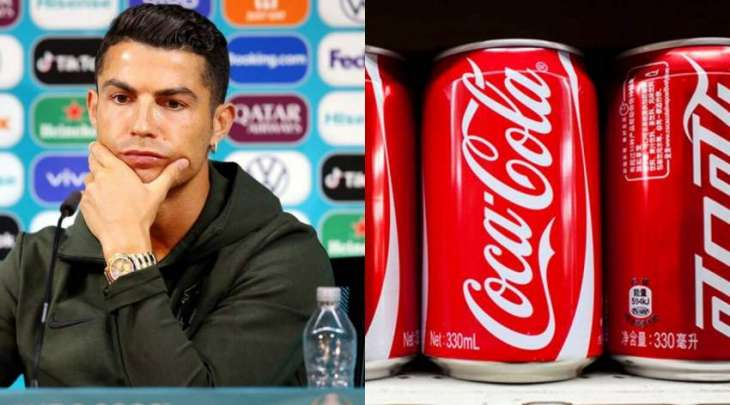 Coca-Cola loses $4billion after Ronaldo's removal of two of its bottles