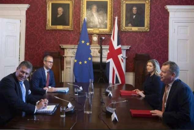 UK Minister Admits Talks With EU Over Northern Ireland Protocol Failing to Make Progress