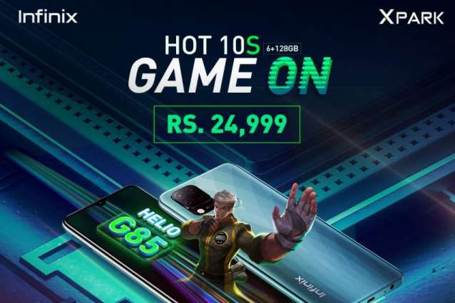 Infinix HOT 10S with MediaTek Helio G85 will be available offline for Rs 24,999!
