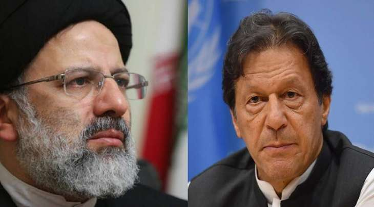 رئیس وزراء عمران خان یھنئي ابراھیم رئیسي بالفوز فی الانتخابات الرئاسیة الایرانیة