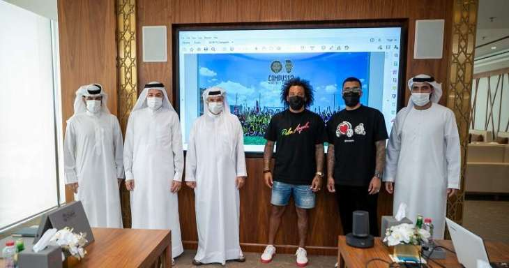 Real Madrid ace Marcelo visits Dubai Sports Council, discusses starting projects in Dubai