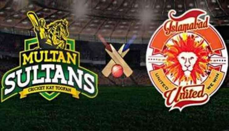 Today PSL 6 Qualifier Match Islamabad United Vs. Multan Sultans 21 June 2021: Watch LIVE on TV