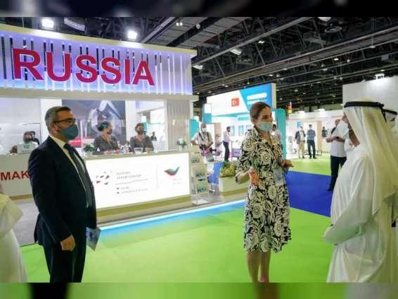 Ahmed bin Saeed inaugurates Arab Health and Medlab Middle East 2021