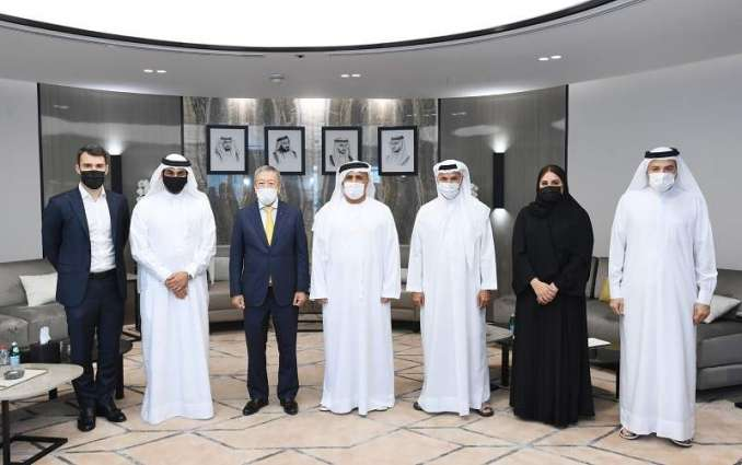 Mattar Al Tayer receives International Olympic Committee Vice President Ng Ser Miang